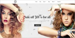 Jeweler Store Blog Theme