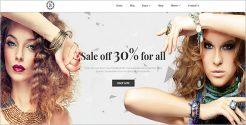 Jeweler Store Blog Theme