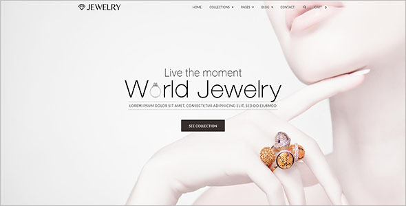 Jewelry Blog Theme