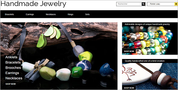 Jewelry Bootstrap Template HTML5