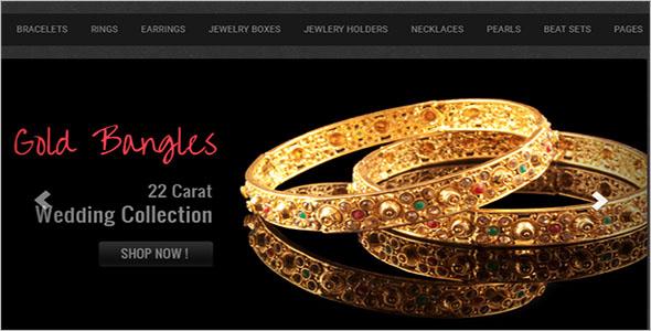 Jewelry E-commerce Bootstrap Template