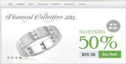 Jewelry Store Blog Theme