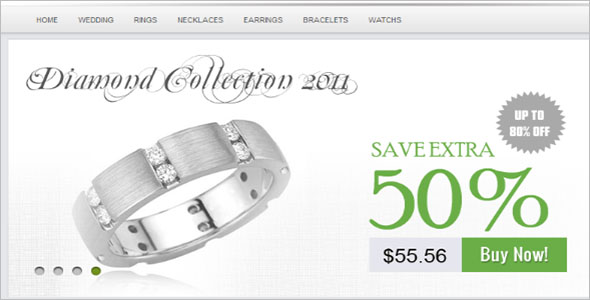 Jewelry Store Blog Theme
