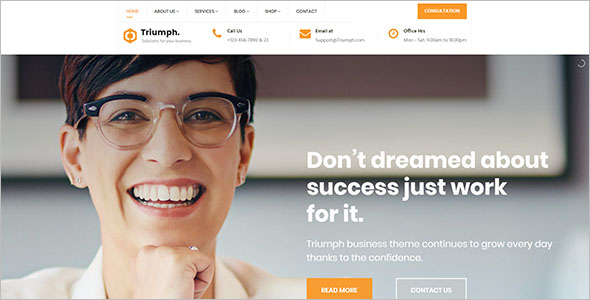 Joomla Template ForBusiness Services