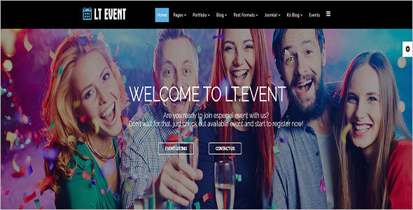 Joomla Template For Event