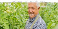 Joomla Template for Organic Food