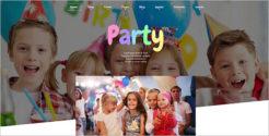 Kids Party Joomla TemplateKids Party Joomla Template