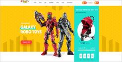 Kids Play Store Joomla Template