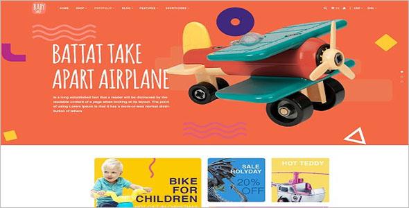 Kids Store Drupal Theme