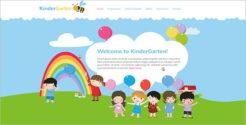 Kindergarten Joomla Blog Template