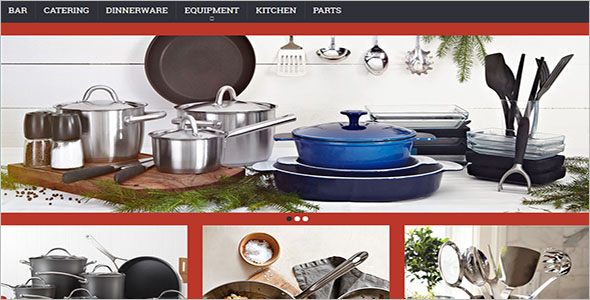 Kitchen Appliances Magento Theme