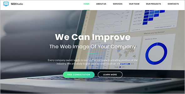 Landing Page Template For Consultants