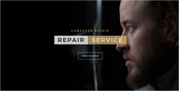 Laptop Repair Website Template