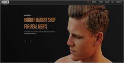 Latest Barbershop Joomla Template