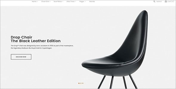 Latest Furniture Store Magento Theme