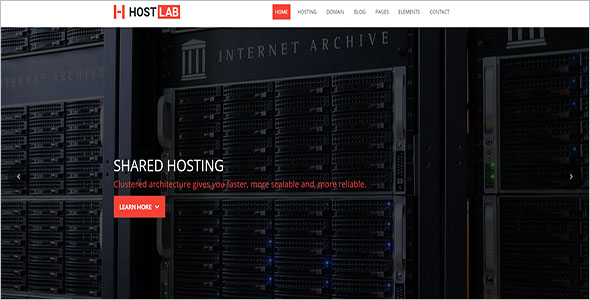 Latest Hosting Blog Theme