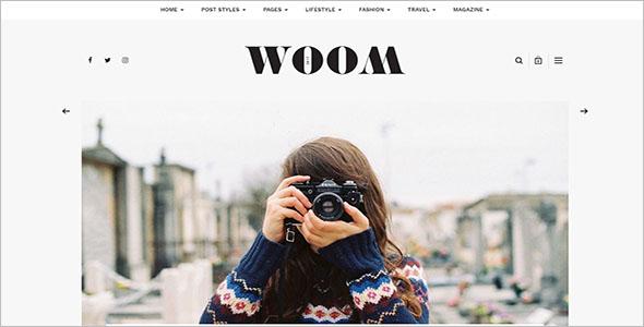 Latest Lifestyle Blog Theme
