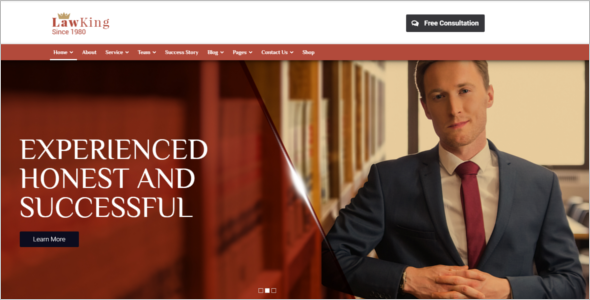 Law Firm Web Template