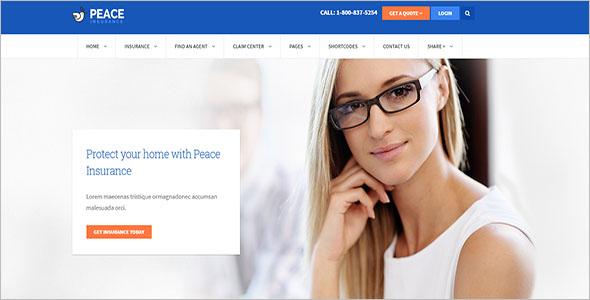 Life Insurance WordPress Theme