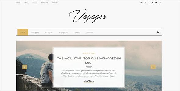 Lifestyle Blogger Theme