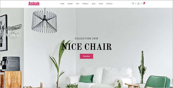 Lovely Furniture Bootstrap Template
