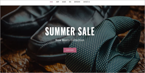 Luxary Fashion Magento Theme