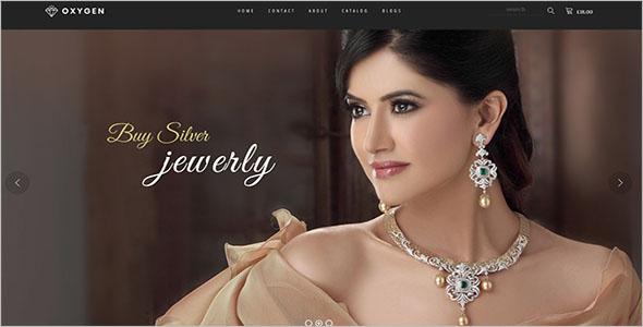 Luxury Jewelry Bootstrap Template