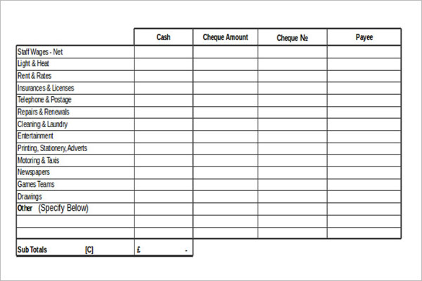 MS Access Bar Inventory Template