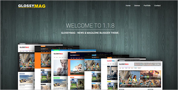 Magazine Video Blogger Theme