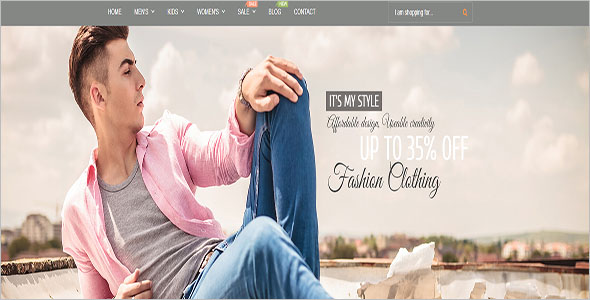 Magento Clothing Theme