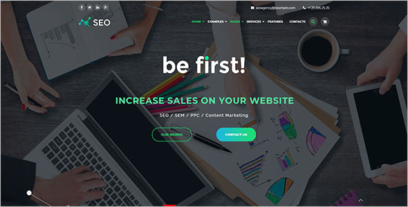 Marketing Agency Bootstrap Theme