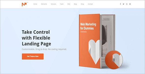 Marketing Agency WordPress Blog Theme