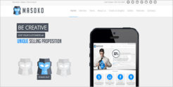 Marketing Business Joomla Template