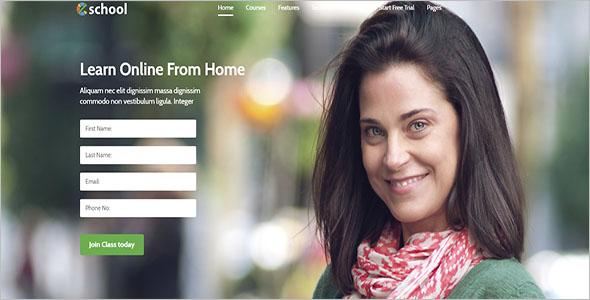 Marketing HTML Page Theme