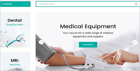 Medical Magento Theme