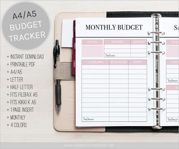 16+ Free Budget Tracking Templates Excel Formats