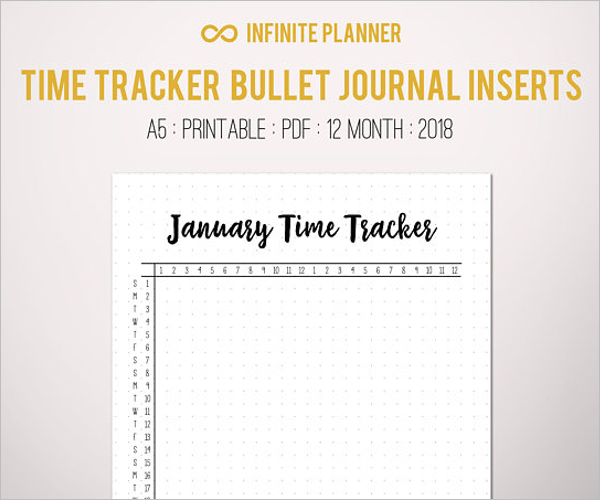 Microsoft Time Tracking Template