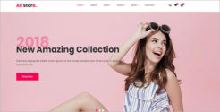 Minimal Retail Blog Theme