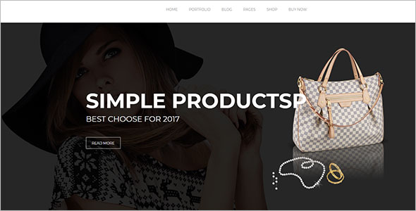 Minimal Retail Bootstrap Template