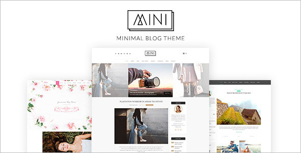 Minimal Video Blogger Template