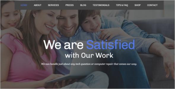 Mobile Repair Services Template