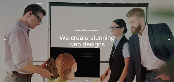 Mobile Store Landing Page Template