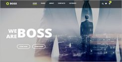 Modern Agency Business WordPress Theme