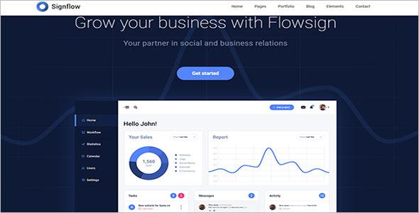 Modern Business Joomla Template