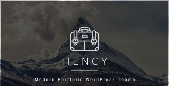 Modern Business Portfolio WordPress Theme
