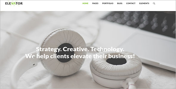Modern Business WP Theme