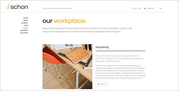 Modern Design Business WordPress Theme