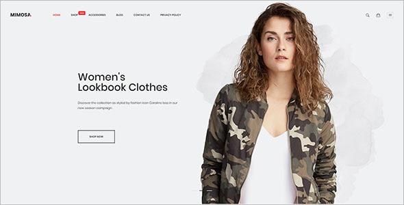 Modern Fashion Magento Theme