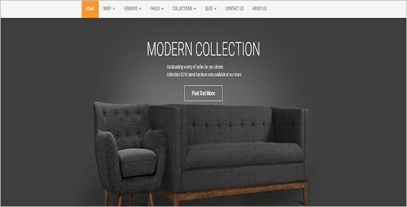 Modern Furniture Blog Theme