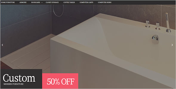 Modern Furniture Store Magento Theme